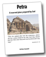 Screenshot of the booklet 'Petra - a reserved place prepared by God'